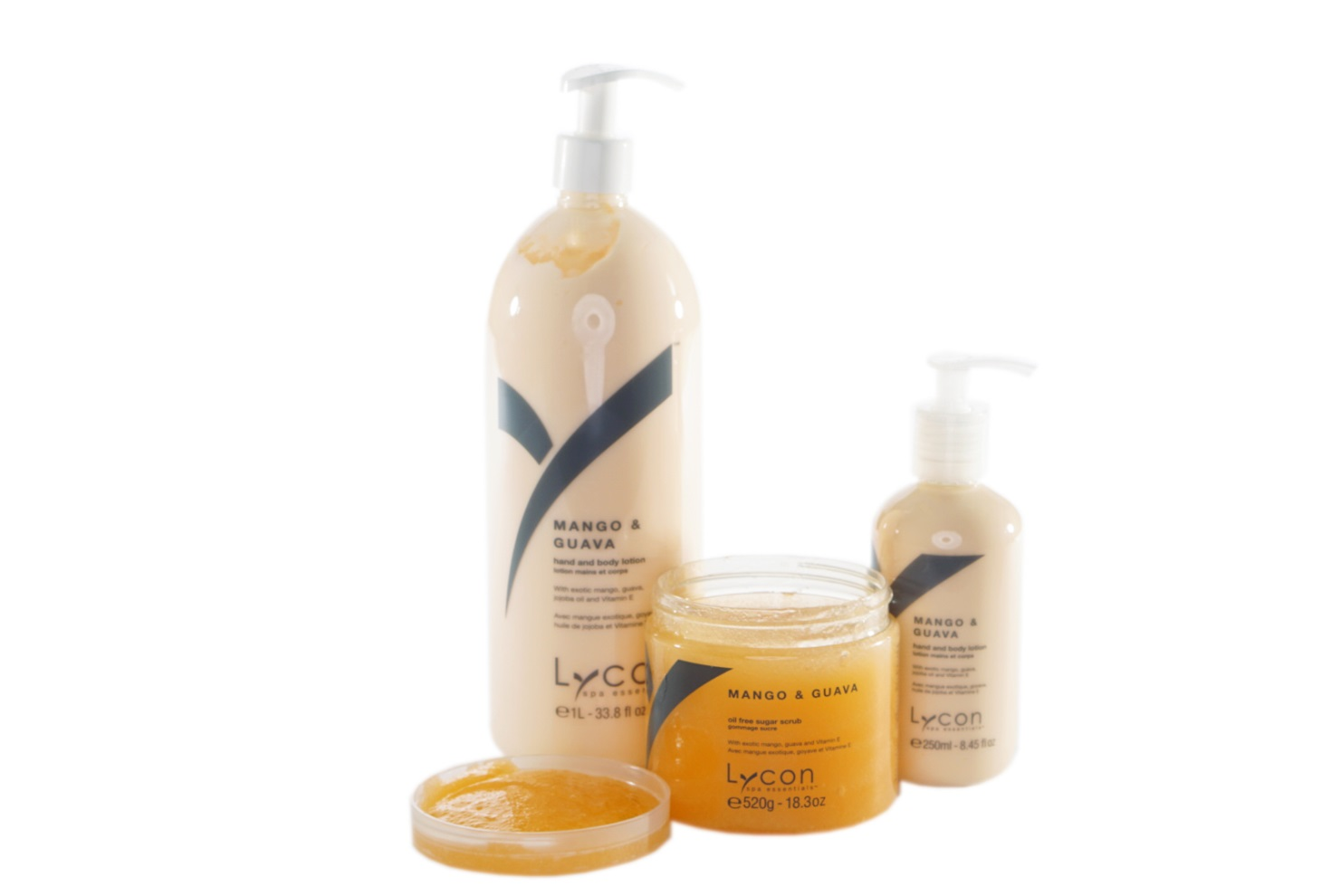 Lycon Spa Essentials Body Lotions & Sugar Scrubs