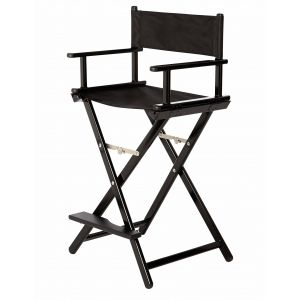 Aluminium Folding Make up Chair with Footrest