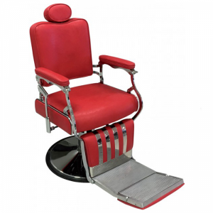BROOKLYN - Barber Chair - Red