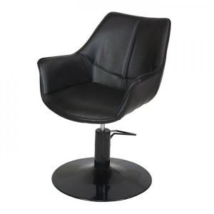 Kate Styling Chair - Black