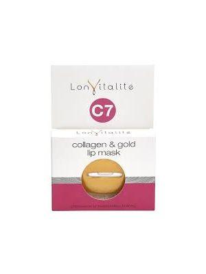 Lonvitalite C7 Collagen & Gold Lip Mask
