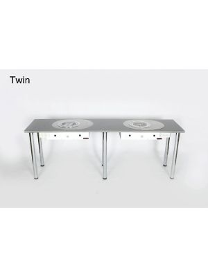 Twin Station Nail Table